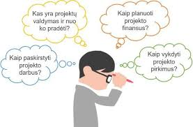 projektu valdymas